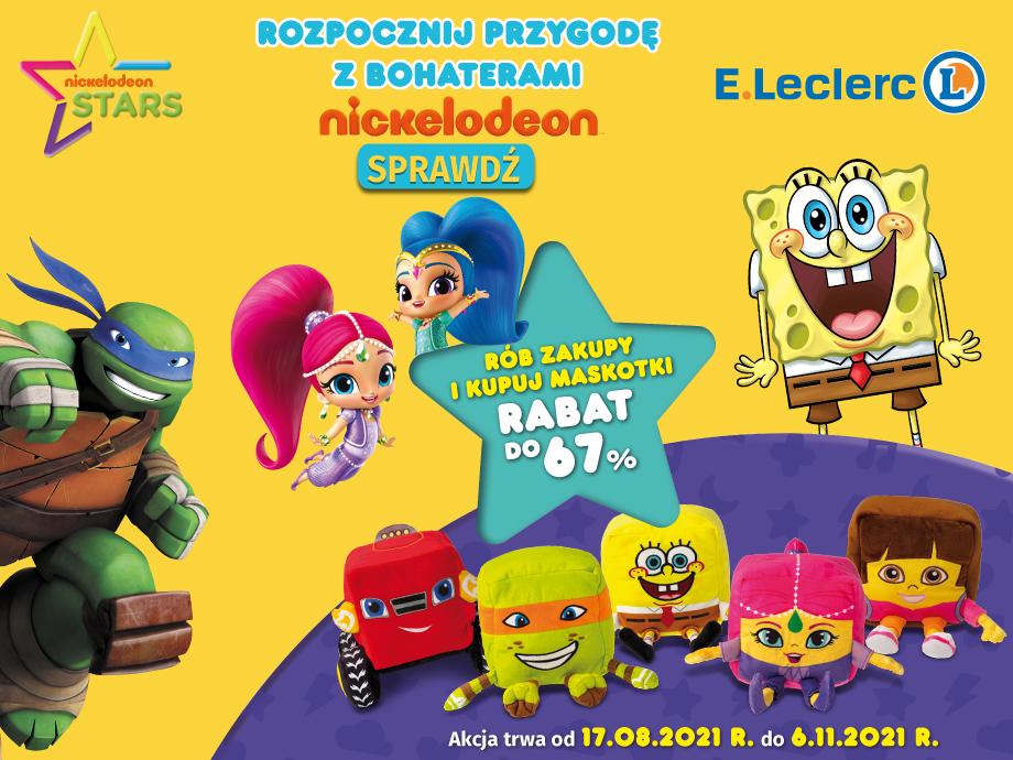 Rozpocznij przygodę z bohaterami Nickelodeon